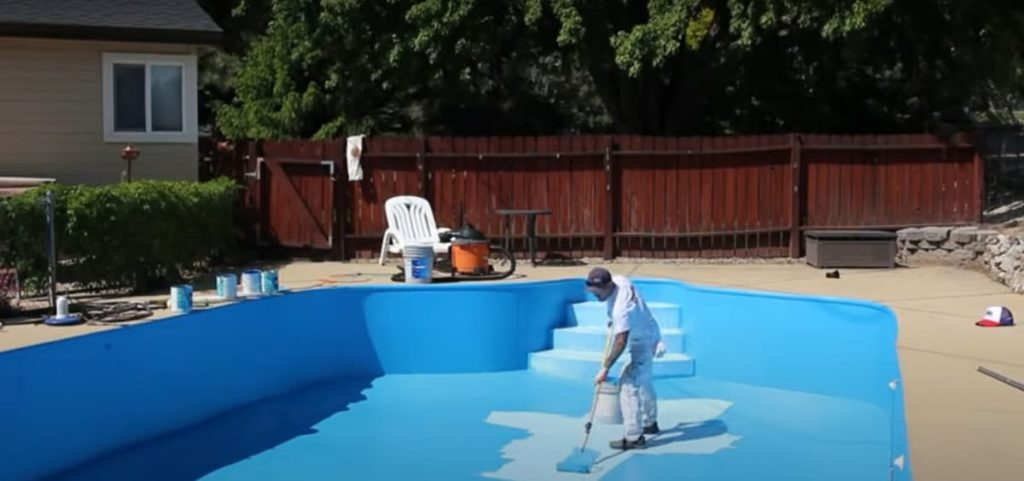 swimming pool paint prices