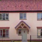 rendering vs bagging exterior brick house