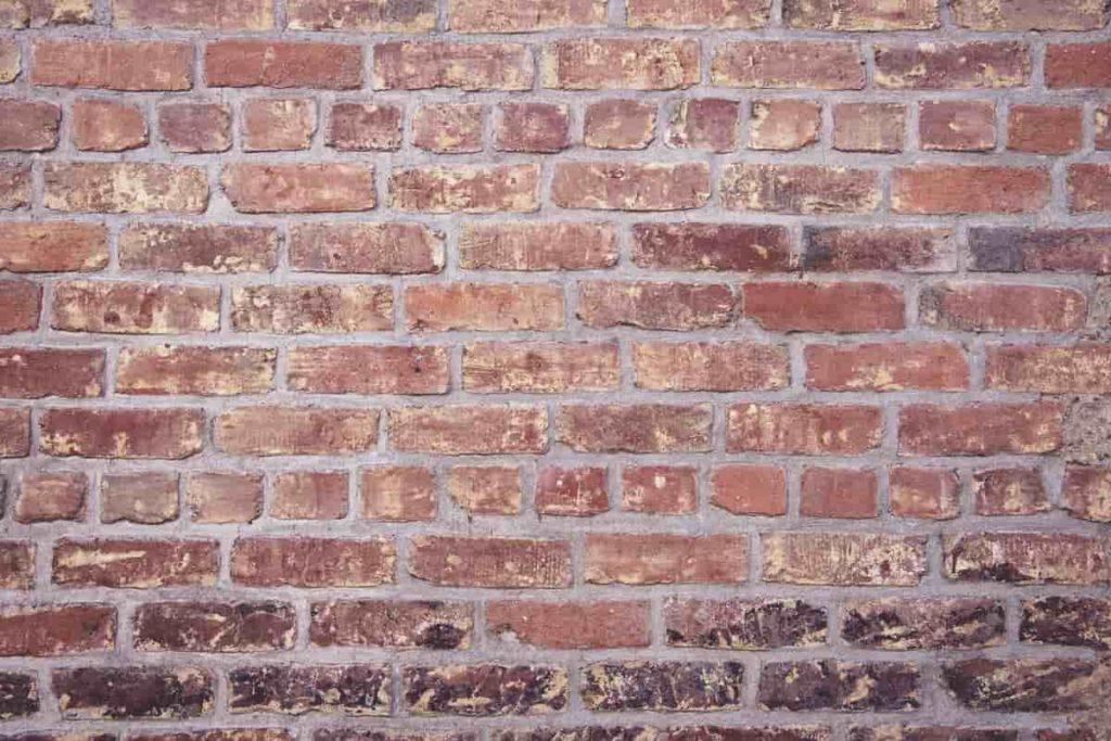 Bricks on house