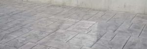 Concrete Tiles with a stamped look in Australia