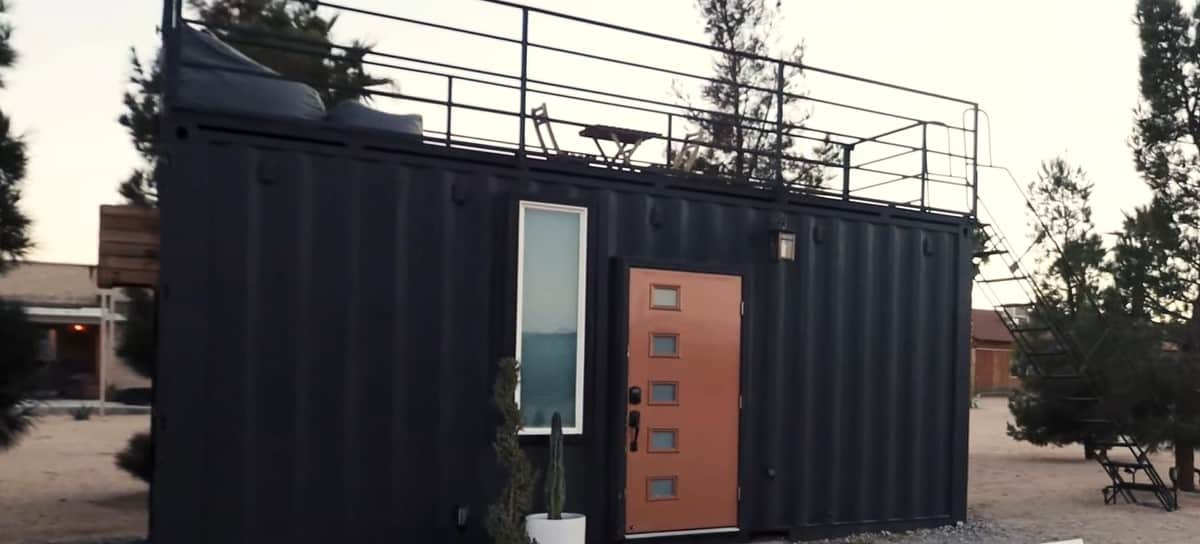 20 foot/6 metre Shipping container home in Australia