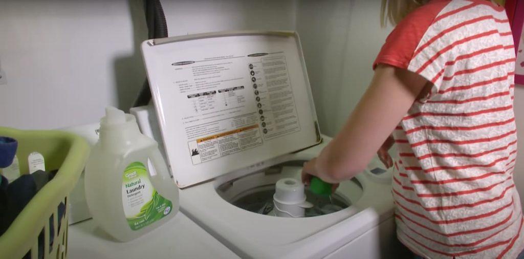 washing machine size